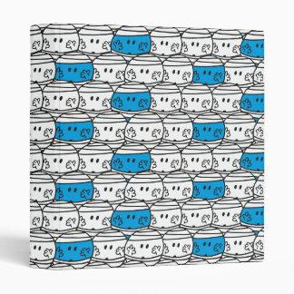 Mr Bump | Blue Pattern Binder