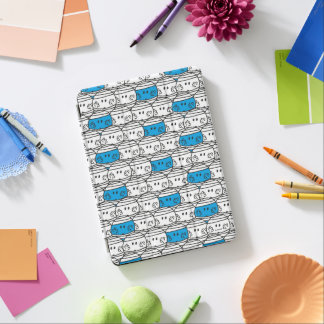 Mr Bump | Blue Pattern iPad Air Cover
