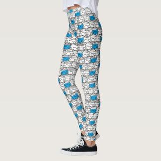 Mr Bump | Blue Pattern Leggings