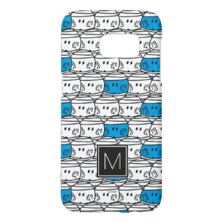Mr Bump | Blue Pattern | Monogram Samsung Galaxy S7 Case