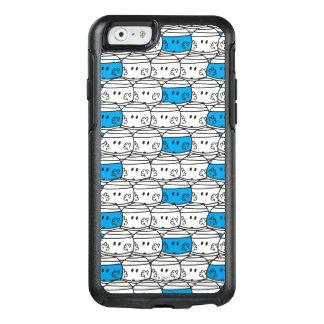Mr Bump   Blue Pattern OtterBox iPhone 6/6s Case