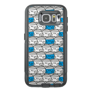 Mr Bump   Blue Pattern OtterBox Samsung Galaxy S6 Case