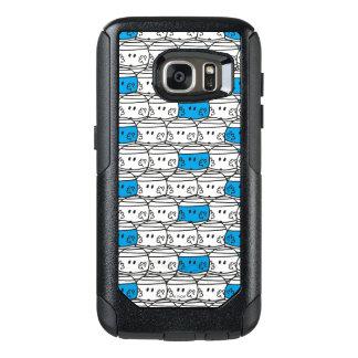 Mr Bump | Blue Pattern OtterBox Samsung Galaxy S7 Case