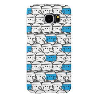 Mr Bump | Blue Pattern Samsung Galaxy S6 Cases