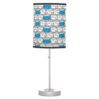 Mr Bump | Blue Pattern Table Lamp