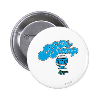 Mr. Bump | Broken Vase 2 Inch Round Button