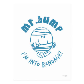 Mr. Bump   I'm Into Bandage Postcard
