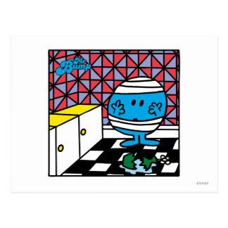 Mr. Bump | Kitchen Accident Postcard