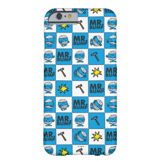Mr Bump | Mosaic In Blue Pattern Barely There iPhone 6 Case