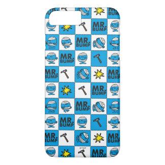 Mr Bump | Mosaic In Blue Pattern Case-Mate iPhone Case