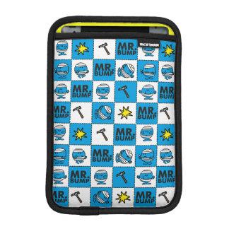 Mr Bump   Mosaic In Blue Pattern iPad Mini Sleeve