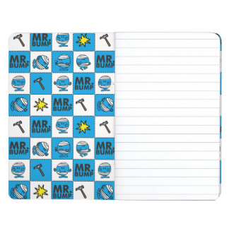 Mr Bump | Mosaic In Blue Pattern Journal