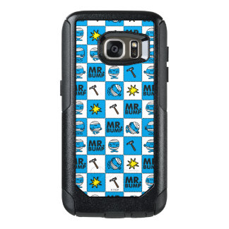 Mr Bump | Mosaic In Blue Pattern OtterBox Samsung Galaxy S7 Case