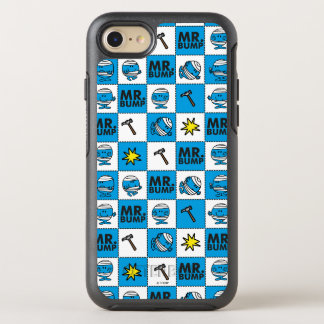 Mr Bump | Mosaic In Blue Pattern OtterBox Symmetry iPhone 8/7 Case