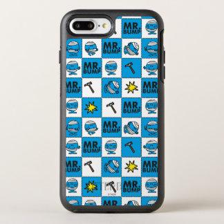 Mr Bump | Mosaic In Blue Pattern OtterBox Symmetry iPhone 8 Plus/7 Plus Case