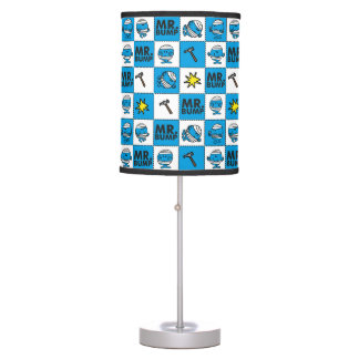 Mr Bump | Mosaic In Blue Pattern Table Lamp