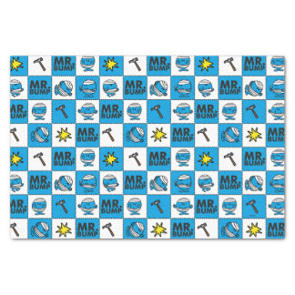 Mr Bump | Mosaic In Blue Pattern Tissue Paper