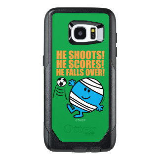 Mr. Bump Playing Soccer OtterBox Samsung Galaxy S7 Edge Case
