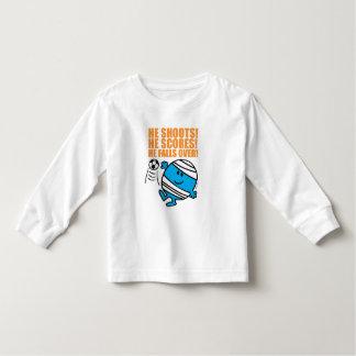 Mr. Bump Playing Soccer T-shirt