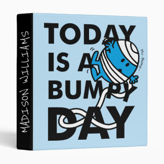 Mr. Bump | Today is a Bumpy Day Binder