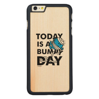 Mr. Bump | Today is a Bumpy Day Carved Maple iPhone 6 Plus Case