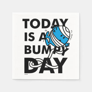Mr. Bump | Today is a Bumpy Day Disposable Napkins