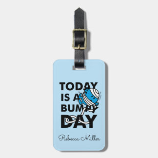 Mr. Bump | Today is a Bumpy Day Luggage Tag