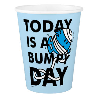 Mr. Bump | Today is a Bumpy Day Paper Cup