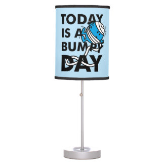 Mr. Bump | Today is a Bumpy Day Table Lamp