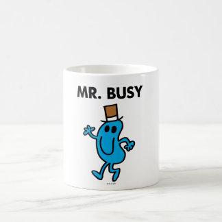 Mr. Busy Waving Hello Coffee Mug