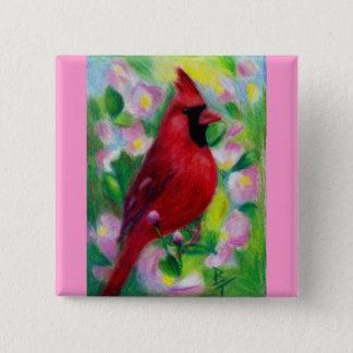 Mr. Cardinal Button