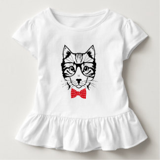 Mr Cat to hispter Toddler T-shirt