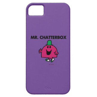 Mr. Chatterbox Waving Hello iPhone 5 Covers