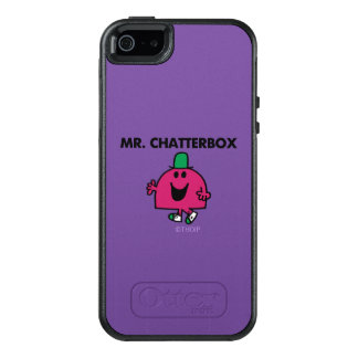 Mr. Chatterbox Waving Hello OtterBox iPhone 5/5s/SE Case