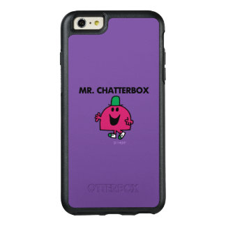 Mr. Chatterbox Waving Hello OtterBox iPhone 6/6s Plus Case