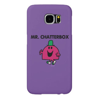 Mr. Chatterbox Waving Hello Samsung Galaxy S6 Cases