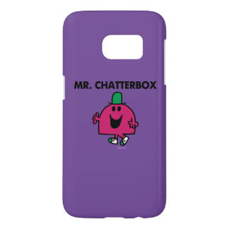 Mr. Chatterbox Waving Hello Samsung Galaxy S7 Case