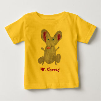 Mr. Cheesy Baby Baby T-Shirt