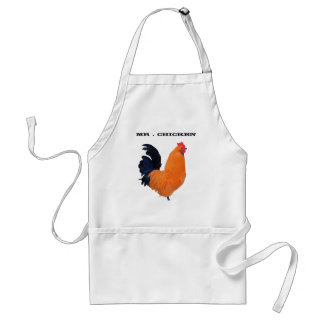 """ Mr . Chicken "" # 1 Standard Apron"