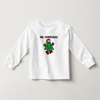 Mr. Christmas | Festive Hat & Gloves Toddler T-shirt