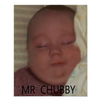 MR CHUBBY POSTER