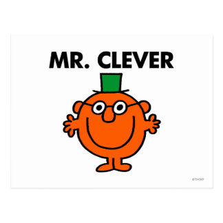 Mr Clever Classic Postcard