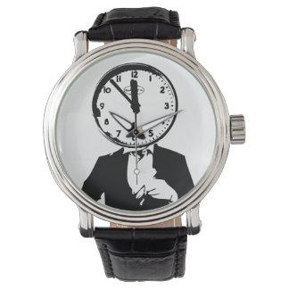 Mr Clock Face Watch Design