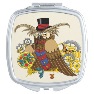 Mr.Clockwork Compact Mirror