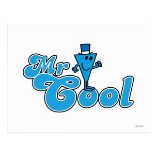 Mr Cool Logo 1 Postcard
