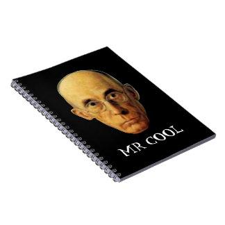 Mr Cool School Notebook for Self-Described Nerd