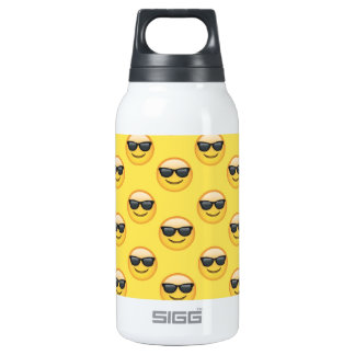 Mr Cool Sunglasses Emoji Insulated Water Bottle