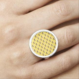 Mr Cool Sunglasses Emoji Ring