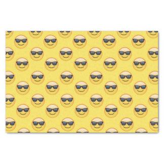 Mr Cool Sunglasses Emoji Tissue Paper