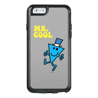 Mr. Cool | Yellow Lettering OtterBox iPhone 6/6s Case